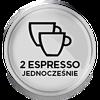 2 espresso jednocześnie