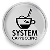 System spieniania mleka Cappuccino
