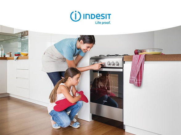 ГОТВАРСКА ПЕЧКА INDESIT IS5V8GMW/E