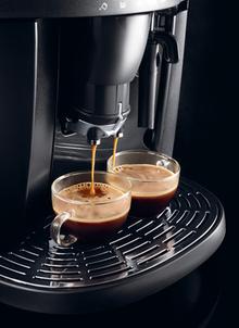 Przygotowanie 2 espresso