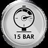 Ciśnienie 15 bar